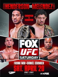 UFC on Fox 7 Poster: Melendez vs Henderson